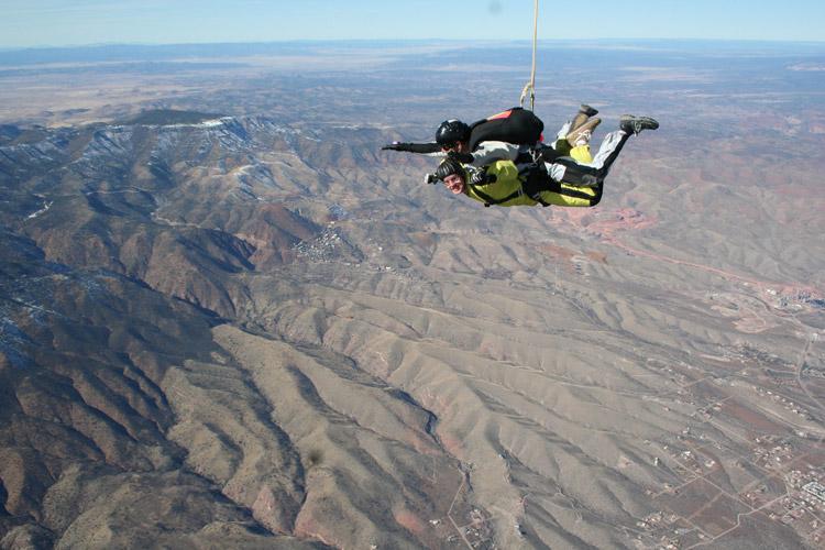 grand canyon usa skydive sky diving 2018