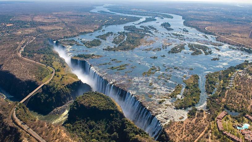 Livingstone Zambia skydive2018