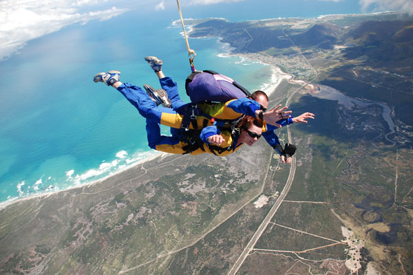 skydiving capetown 2018