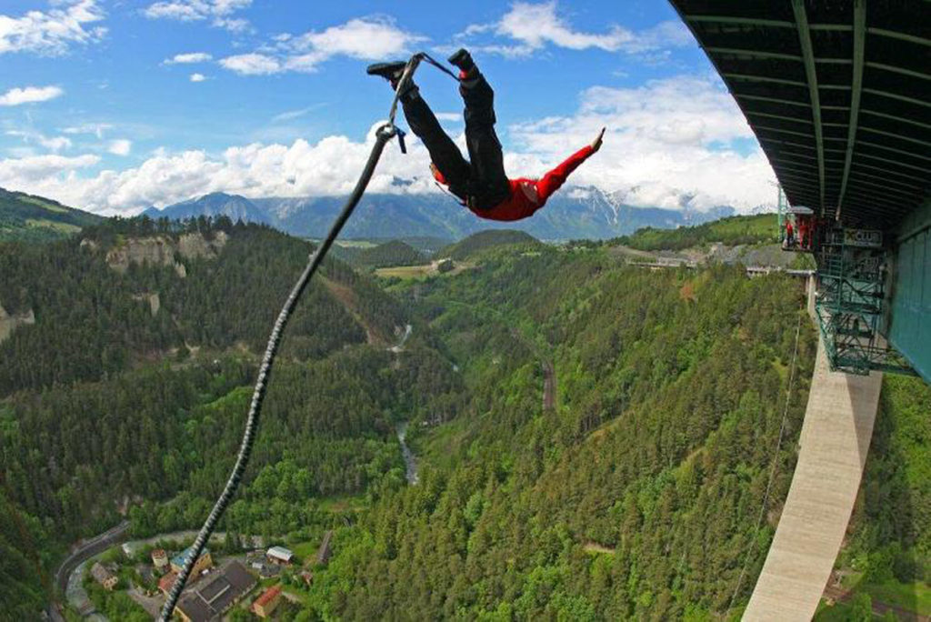 Europabrücke Bridge, Innsbruck, Austria - Best places to bungee jump - 2018 - TrendMut- USA