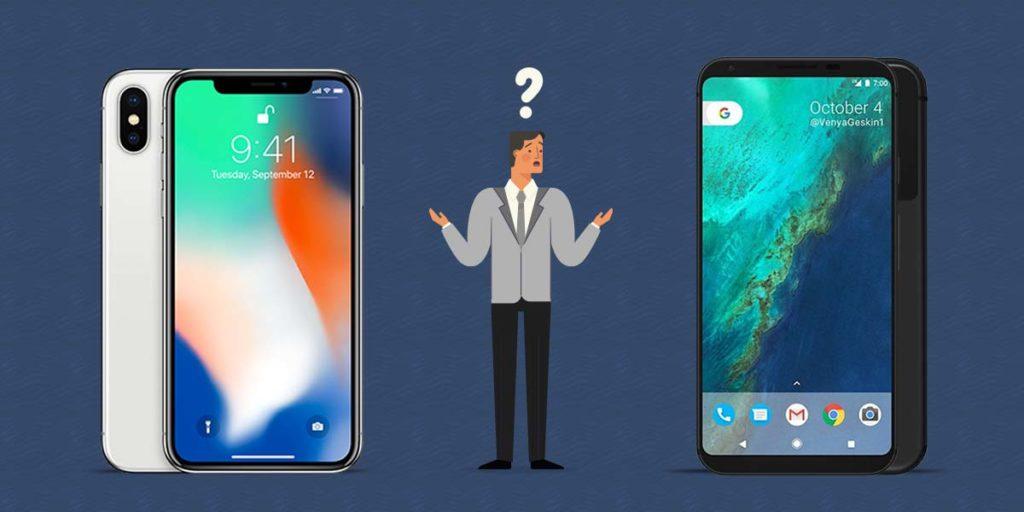 IphoneX vs Google Pixel 2 - best phone 2018 -TrendMut - pixel2Xl - iPhone X vs Pixel 2
