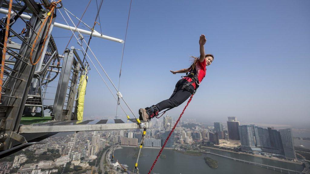 Macau Tower, Macau, China - Best places to bungee jump - 2018 - TrendMut- USA 2