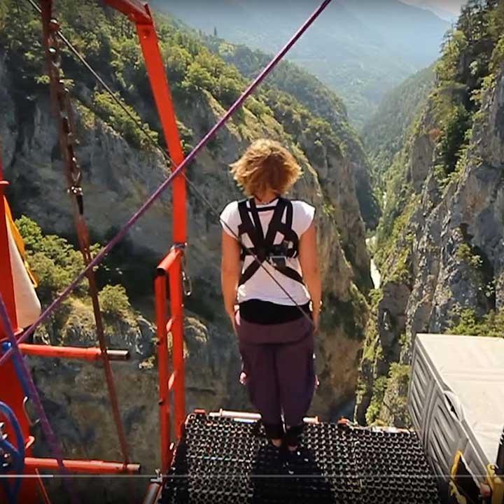 Niouc Bridge, Val d'Anniviers, Switzerland - Best places to bungee jump - 2018 - TrendMut- USA 2