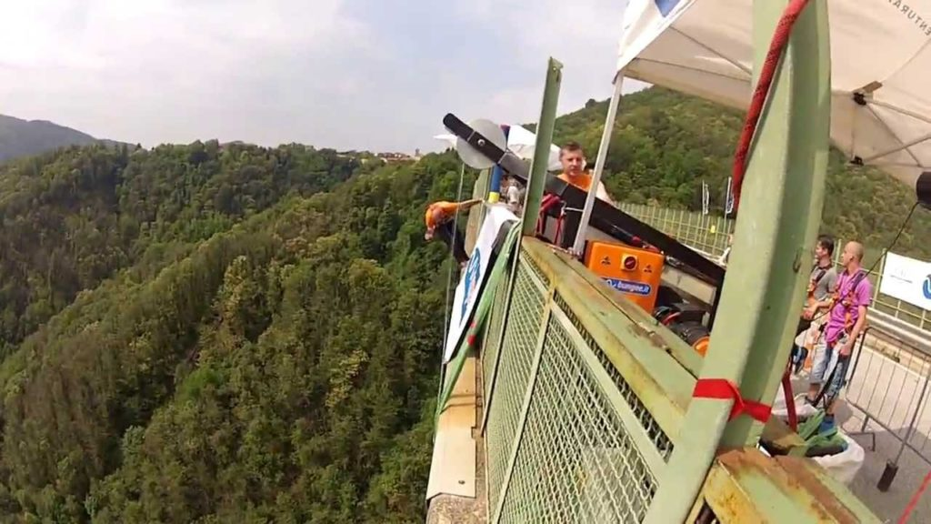 Ponte Colossus (Veglio-Pistolesa Bridge), Biella, Italy - Best places to bungee jump - 2018 - TrendMut- USA 2