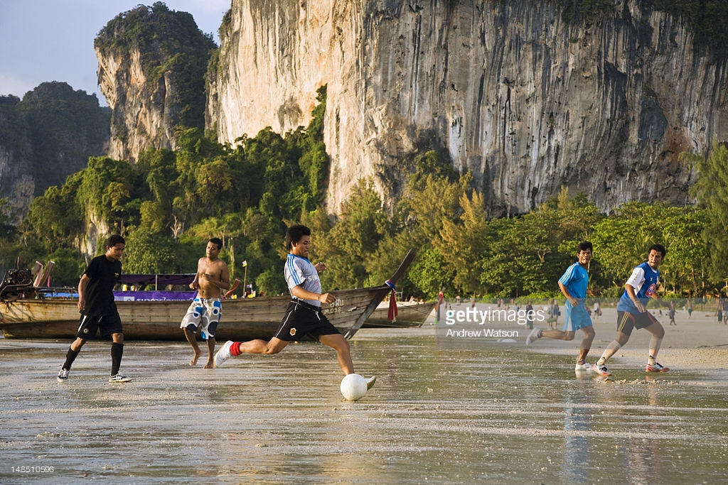 beach-football-traveling-to-thailand