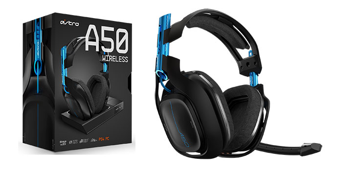 Astro A50 - Best Gaming Headsets for 2018 - Compatible with PC, PS4, and Xbox One - best budget headsets - TrendMut -2018