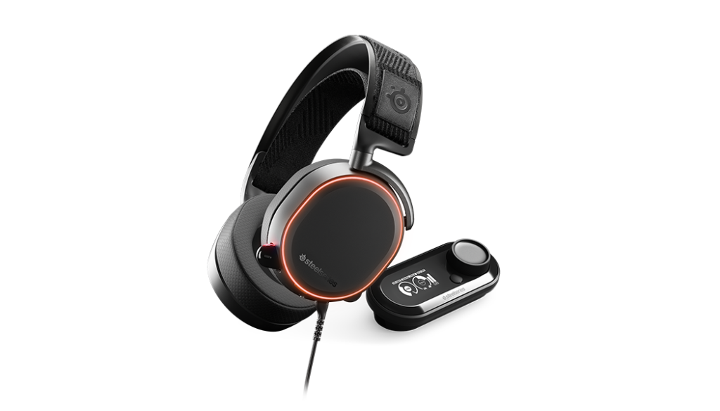 SteelSeries Arctis Pro + GameDAC- Best Gaming Headsets for 2018 - Compatible with PC, PS4, and Xbox One - best budget headsets - TrendMut -2018
