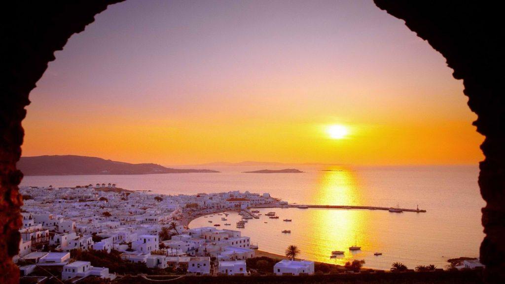 greece landscapes