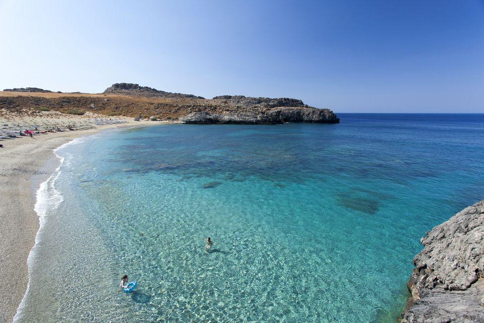 seas in greece