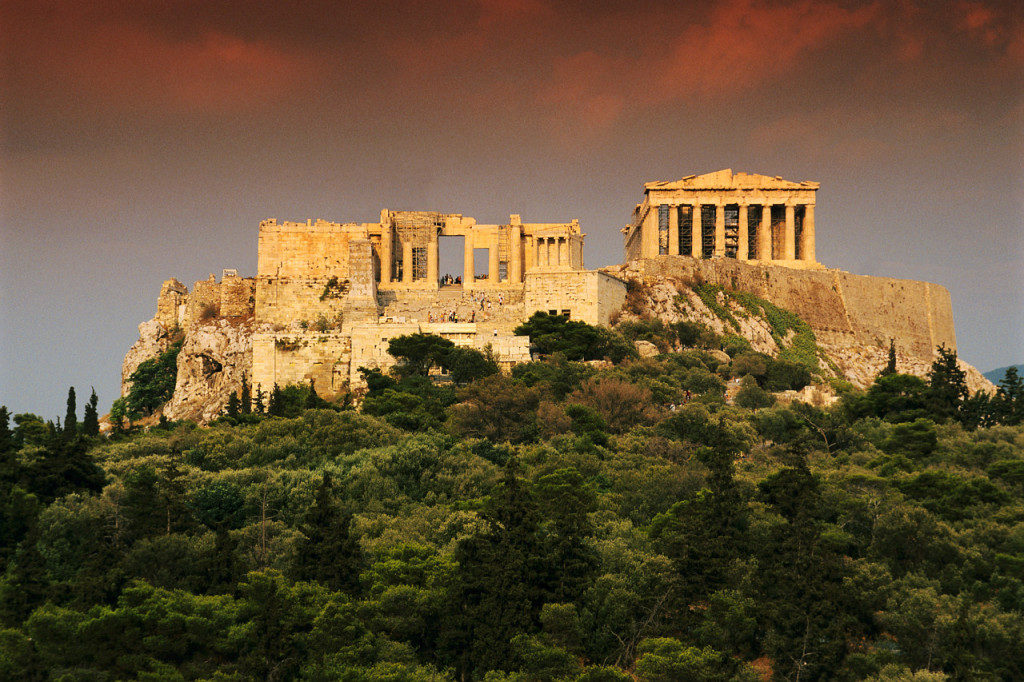Greece archaeological sites