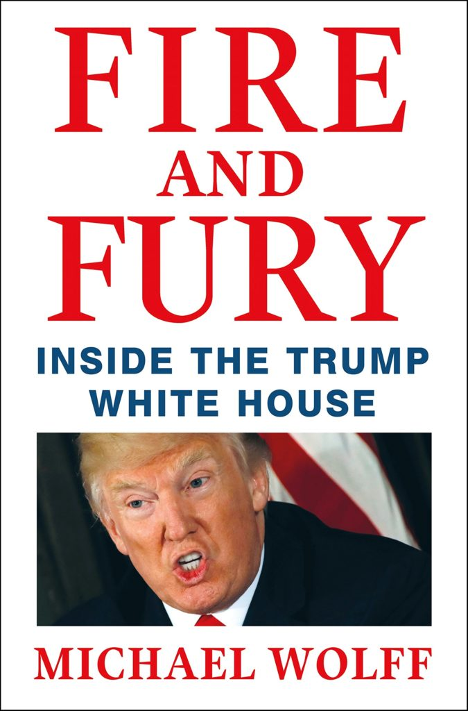 Fire and Fury Inside the Trump White House By Michael Wolff - Best Selling Books On Amazon 2018 - TrendMut