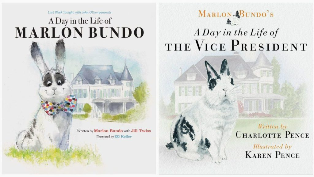 Last Week Tonight with John Oliver Presents a Day in the Life of Marlon Bundo By Jill Twiss-Best Selling Books On Amazon 2018 - What books to buy online - TrendMut-