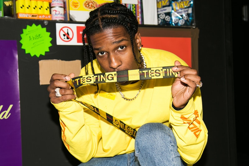 Image result for A$AP rocky testing