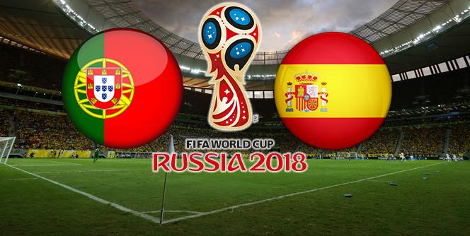 Spain vs Portugal FIFA 2018