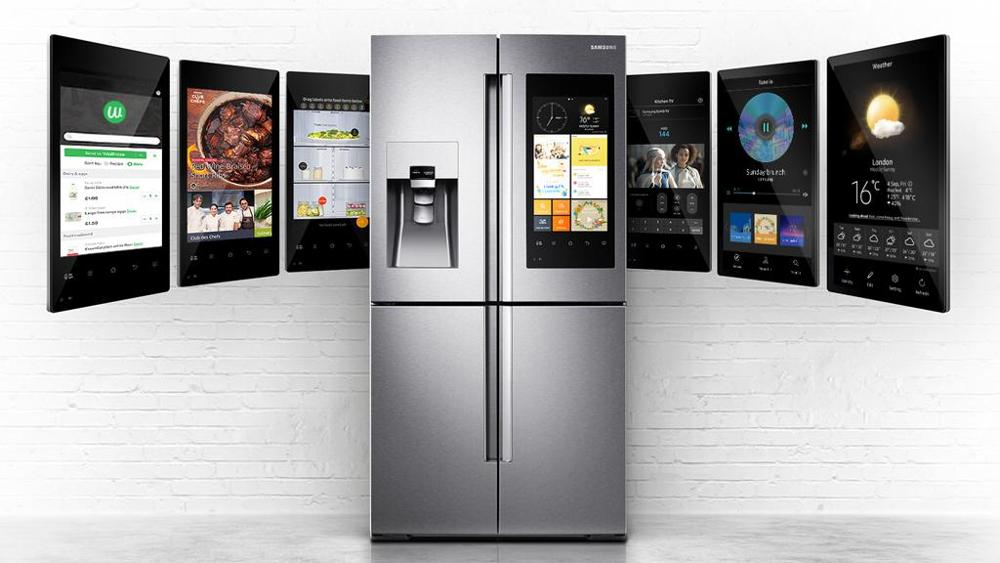 Samsung Family Hub French Door Refrigerator RF265BEAESG- Best Smart Refrigerators to Buy in 2018 - Top ten - smart fridges- What fridges to buy - TrendMut