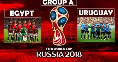 Second match of FIFA WorldCup, Egypt Vs. Uruguay (0 - 1)