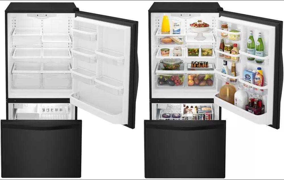 Whirlpool WRB322DMBB Bottom Freezer - Best Smart Refrigerators to Buy in 2018 - Top ten - smart fridges- What fridges to buy - TrendMut