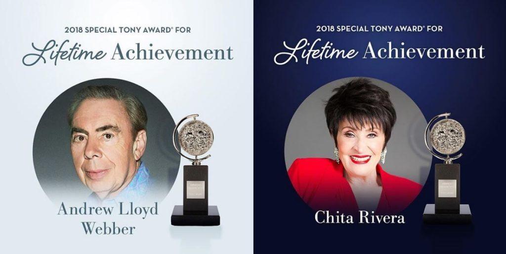 lifetime-achievement-tony-awards-2018-andrew-lloyd-chita-rivera
