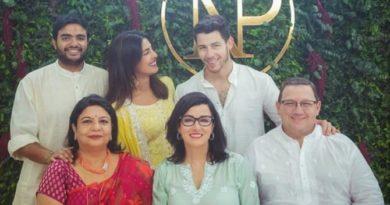 Priyanka Chopra And Nick Jonas Engagement Pictures