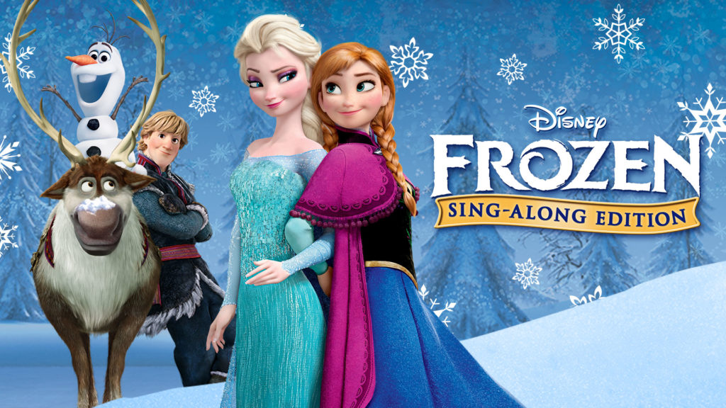 frozen - best christmas movie for kids