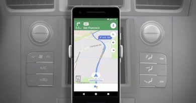 Navigation-optimized Google Assistant for Android