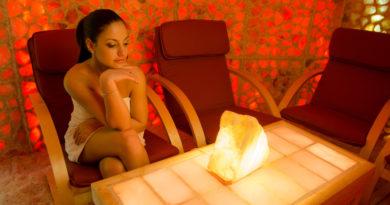 Himalayan Salt Lamps at Home