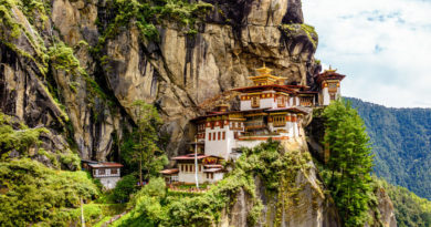 list of monasteries in Bhutan