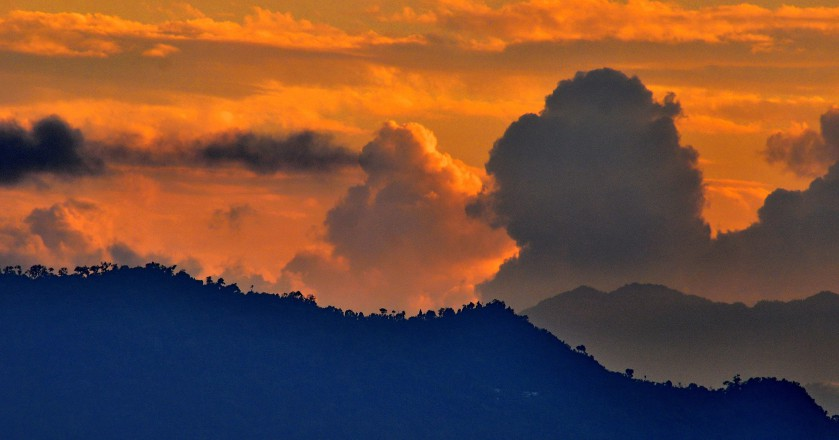 Hanuman Tok sunset