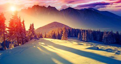 sunset in Sikkim