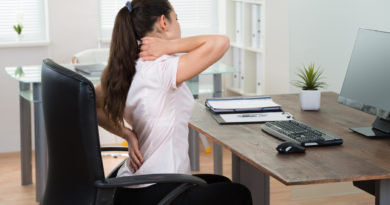 Five Most Common Causes of Bad Posture
