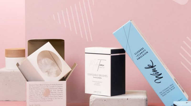 Small Boxes for Cosmetic Packaging