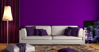 Design Your Home with Bold Purple Tile